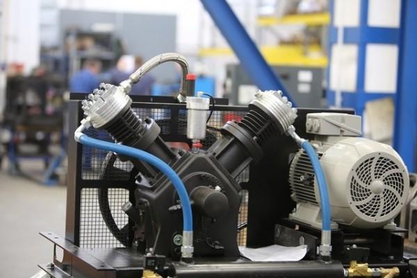 silnik sprężarki